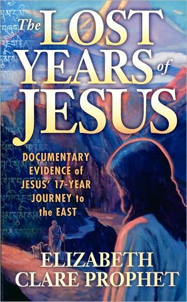 Lost Years Of Jesus